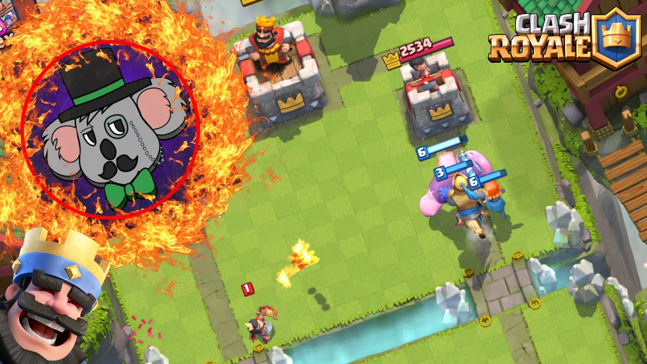 Download Clash Royale - CHALLENGE WITH DA KO4LA! THE RIGHT LANE ONLY PUSH CHALLENGE!