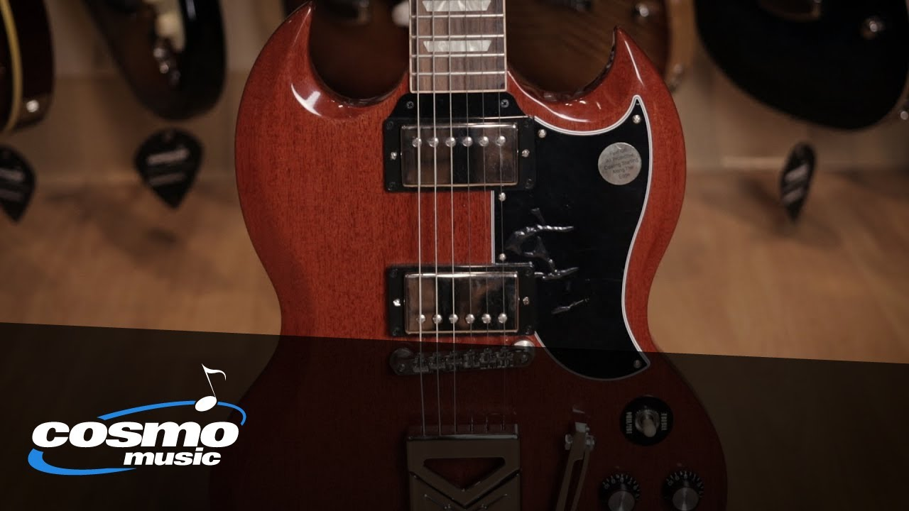 Gibson SG Standard 61 Sideways Vibrola Quickview - Cosmo Music