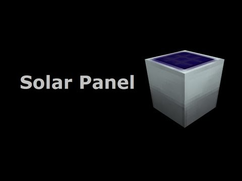 Solar Panel (Tekkit/Feed The Beast) - Minecraft In Minutes