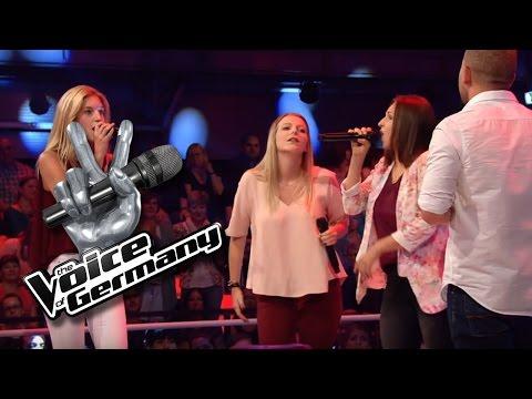 Ich laufe - Tim Bendzko | Sarah, Maria & Teresa vs.Tay Cover | The Voice of Germany 2016 | Battles