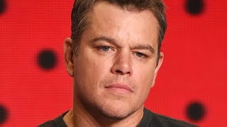 The Shady Truth About Matt Damon