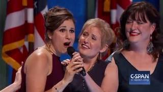What the World Needs Now is Love sung at Democratic National Convention (C-SPAN)