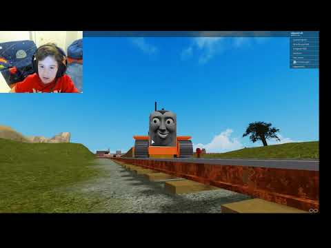 Roblox Thomas And Friends Shooting Thomas And Friends The Cool Beans Railway Two Eight Roblox Youtube