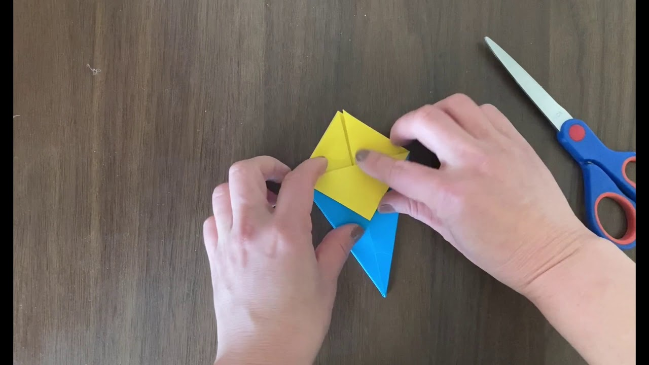 Origami Christmas Tree by Yuka