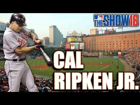 MLB THE SHOW 16 LEGEND - CAL RIPKEN JR - Player Lock Ep.160