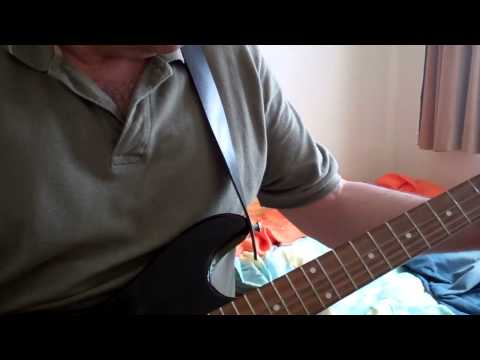 experiment in gdae on guitar