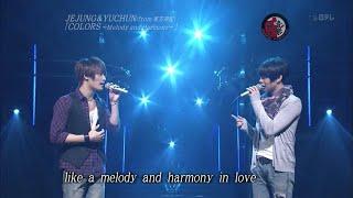 동방신기 JYJ) 'Colors~Melody and Harmony' Music Fighter LIVE [KO…