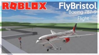 ROBLOX - FlyBristol Boeing 787-9 Flight