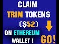 Claim TRIM Tokens $52 FREE and Withdraw on Ethereum WALLET !