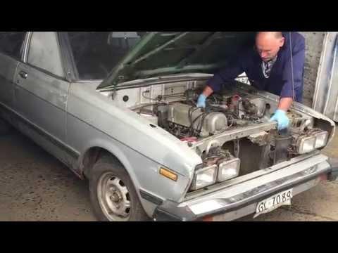 Datsun 160J preparando para correr