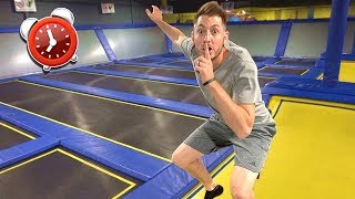 After Hours At Trampoline Park!