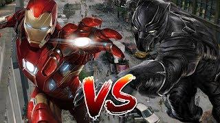 Iron Man VS Black Panther | BATTLE ARENA