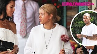 Sofia Richie Celebrates Her Birthday With Her Mom & Brother Miles Richie At The Ivy 8.24.17