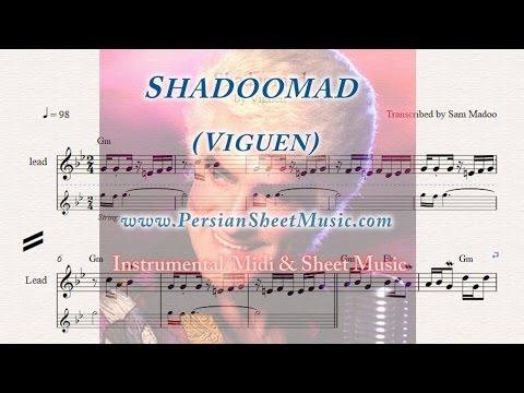 Shadoomad (Viguen) Instrumental Midi Sheet Music