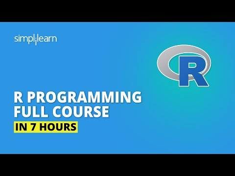 R Programming Full Course In 7 Hours   R Programming For Beginners   R Tutorial   Simplilearn