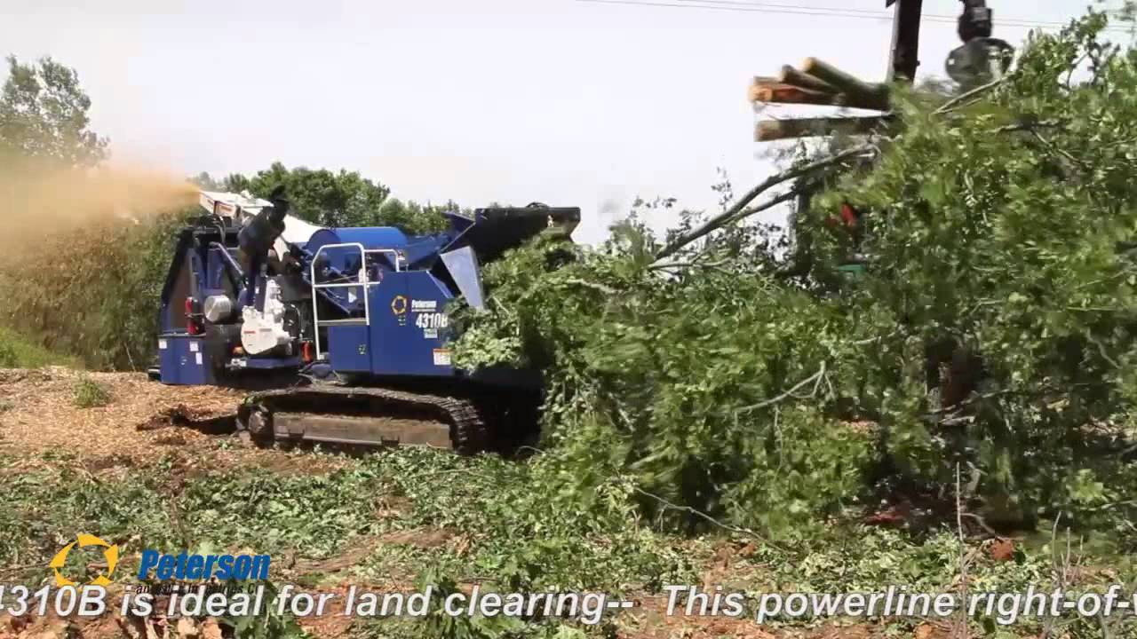 Peterson 4310b Land Clearing Youtube
