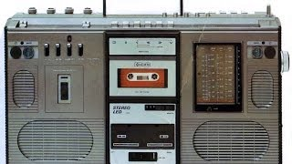Ghettoblaster SKR 501 RFT from East Germany at 1983 ! ! !