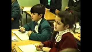 Урок математики во 2 классе. Табличное умножение на 3. Андреев В.М. 1996 год