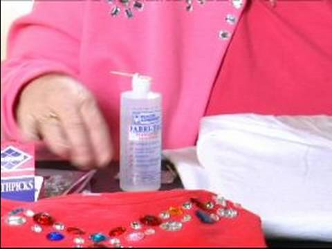 Decorating Clothes With Rhinestones Gluing Rhinestones To Clothing