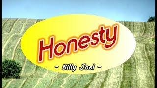 Honesty - Billy Joel (KARAOKE VERSION)