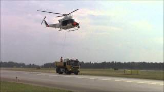 Tour De Sky 2014 Airshow Helicopters Oulu Finland EFOU