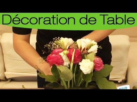 D coration un centre de table champ tre youtube - Deco de table campagnarde ...