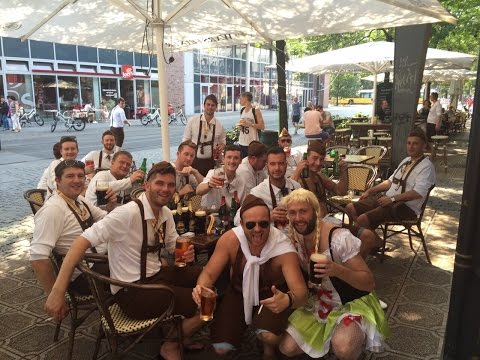 Gareth Stag Weekend - Berlin Beer Festival 2015
