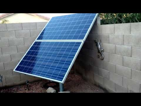Solar pool pump #2