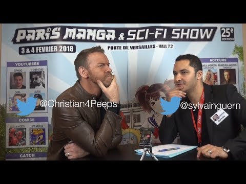 Interview de Christian (Jay Reso - WWE) Paris Manga Février 2018