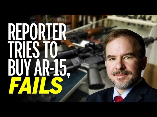 Liberal Chicago Journalist Tries To Buy Ar-15 To Prove Gun Control Point, Fails Background Check