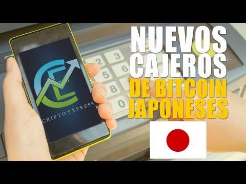 Nuevos Cajeros de Bitcoin Japoneses