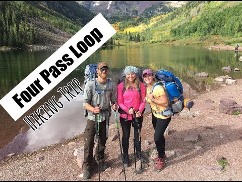 Backpacking The Maroon Bells FOUR PASS LOOP