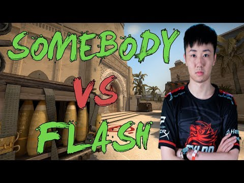 CSGO: POV TyLoo somebody vs Flash (28/16) mirage @ ESL One Cologne 2017 - China Qualifier