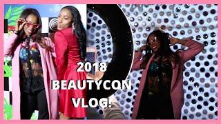 Beautycon NYC 2018 WEEKEND + INTERNATIONAL CULINARY CENTER KAMI SIMMONS VLOGGY #1: