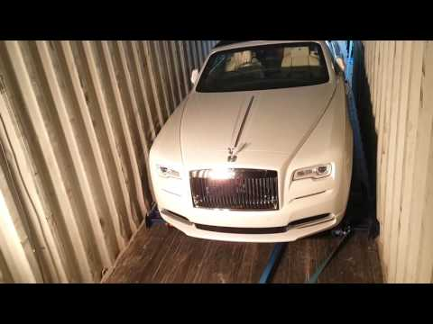 Rolls Royce Dawn Loading For Export