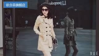 [해외직구] 여성 트렌치 코트 2019 신상 가을 슬림…