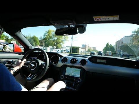 Ford MUSTANG GT V8 VLog MIASTO – GODZINY SZCZYTU