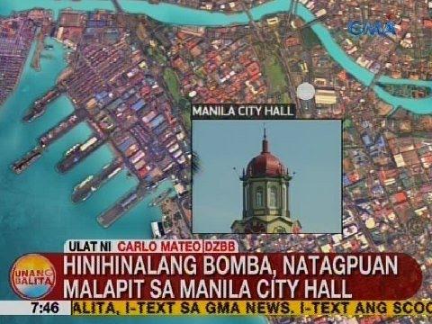 UB: Hinihinalang bomba, natagpuan malapit sa Manila City Hall