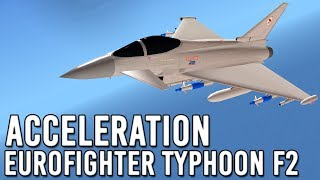 ROBLOX | Eurofighter Typhoon F2 Flight! | Acceleration #2