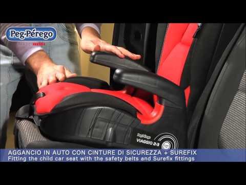 Κάθισμα αυτοκινήτου Peg-Perego Viaggio 2-3 Surefix