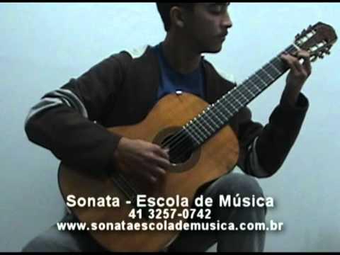 Sonata - Sua escola de música em Curitiba (Preludio 1 - Bach)
