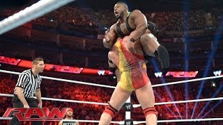 Big E vs. Ryback - Beat the Clock Challenge: Raw, May 19, 2014