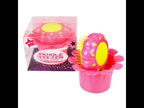 Magic flower pot tangle teezer for girls review youtube mightylinksfo