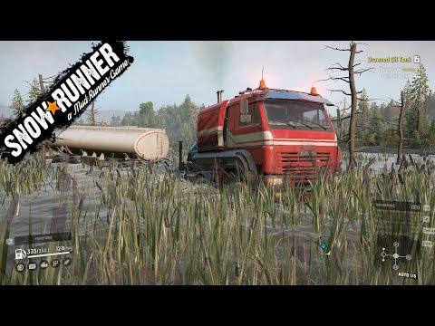 SnowRunner Task Drowned Oil Tank Taymyr Drowned Lands