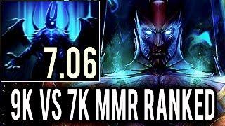 Miracle- Terrorblade - No Mercy! 9k vs 7k MMR Ranked Gameplay 7.06 Dota 2