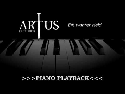 Piano Playback - Ein wahrer Held (Artus Excalibur)
