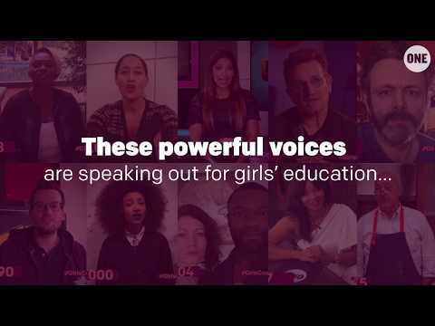 Powerful voices are speaking out to say #GirlsCount // The ONE Campaign