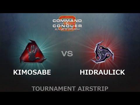 C&C3: Kanes Wrath 1v1  KiMOsaBE BH vs HiDrauLicK T59