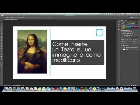 HTBP #3 - Come inserire e modificare un testo | Photoshop TUTORIAL