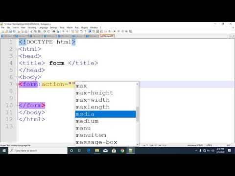 html css tutorial in bangla part 27 form tag thumbnail